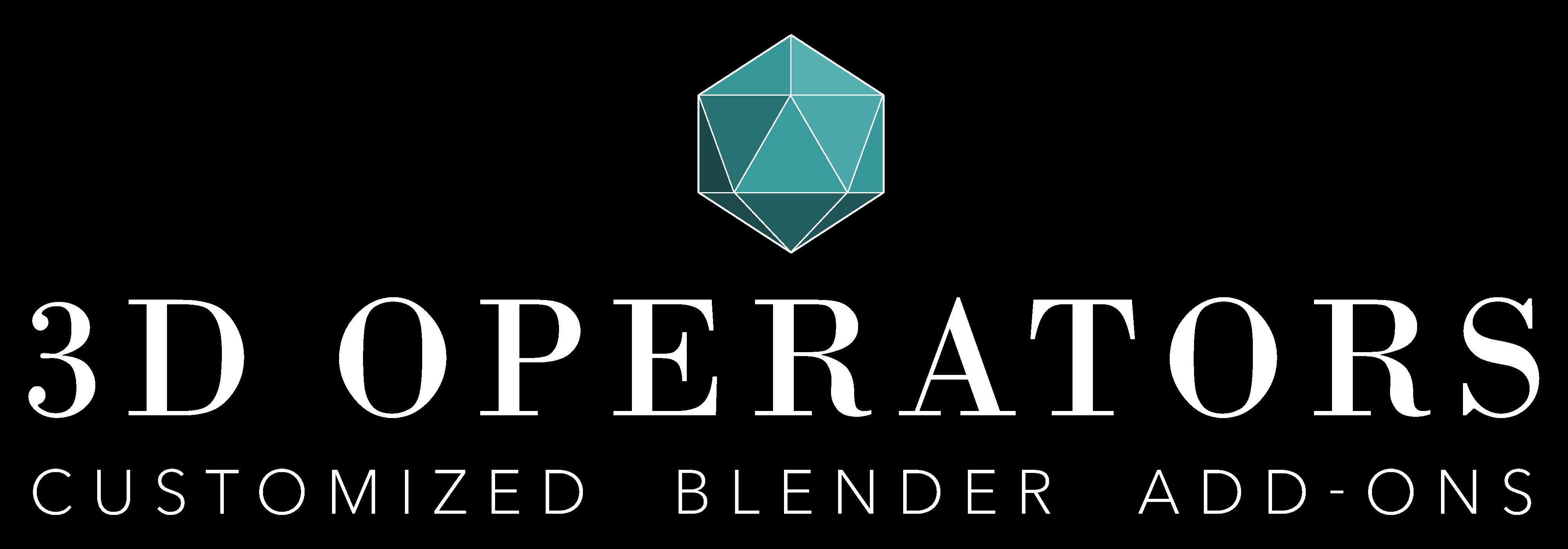 3D Operators - Customized Blender Add-ons